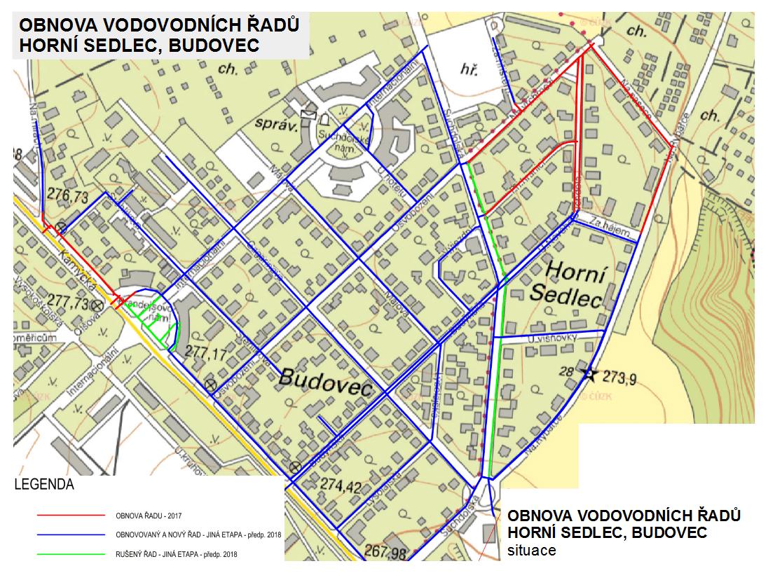 Rekonstrukce vodovodů - Budovec