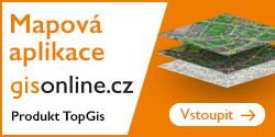 Mapová aplikace GIS