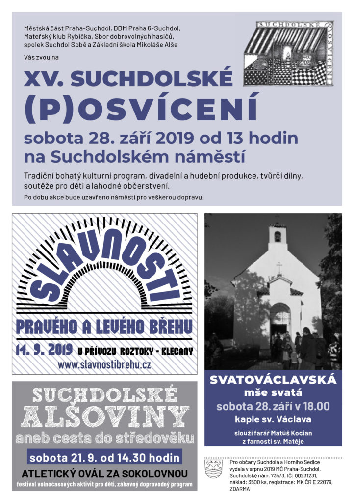 Suchdolská mozaika 09/2019