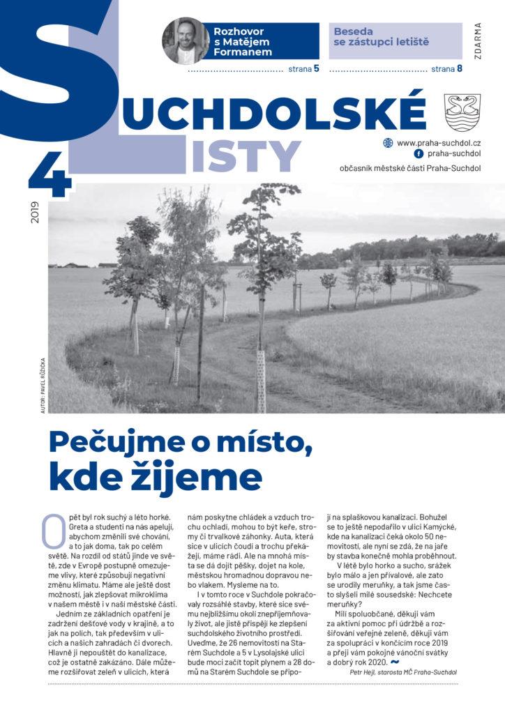 Suchdolské listy – 4/2019