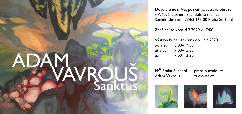 Vernisáž výstavy – Adam Vavrouš