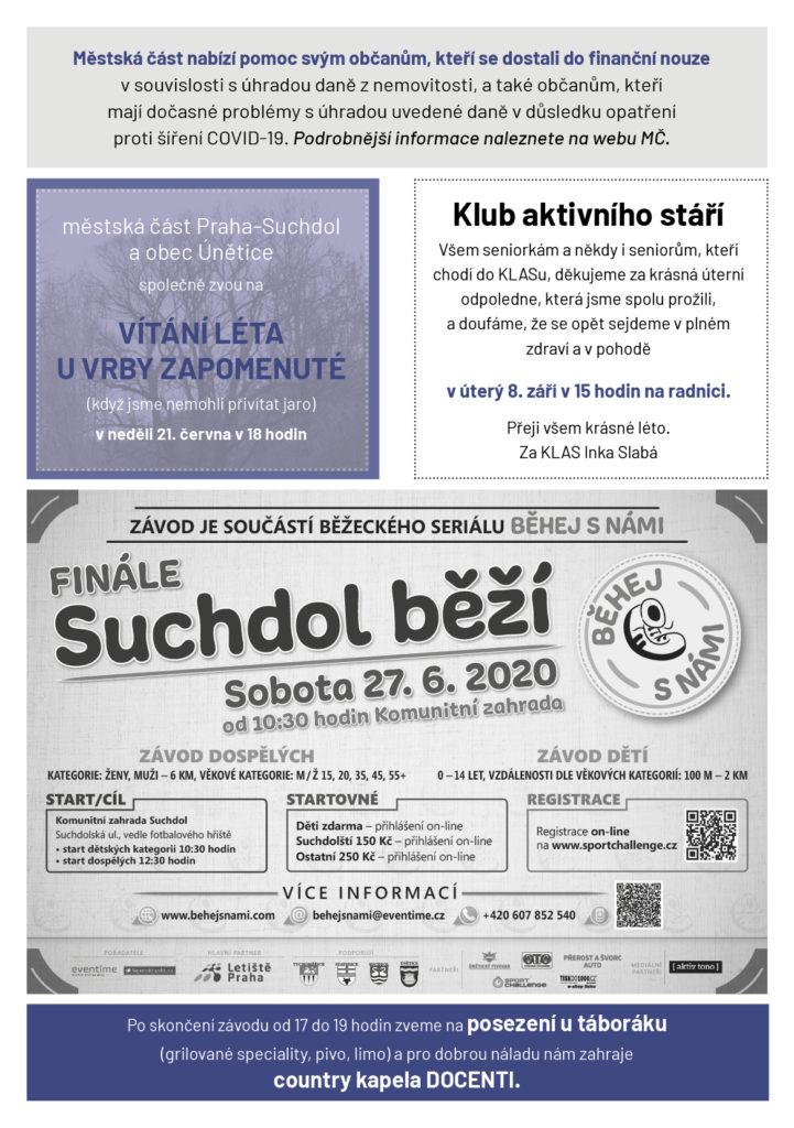 Suchdolská mozaika 6/2020