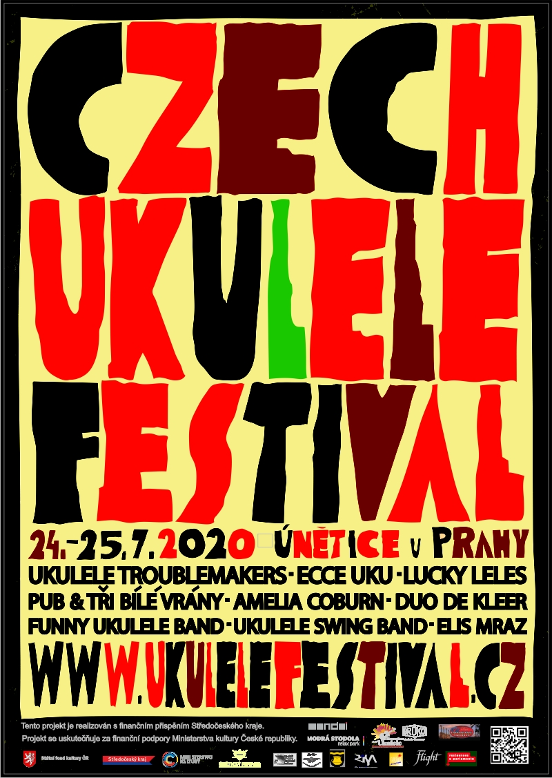 Czech UKULELE festival Únětice